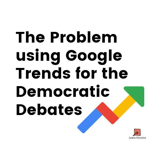 The Problem Using Google Trends for the Democratic Debates