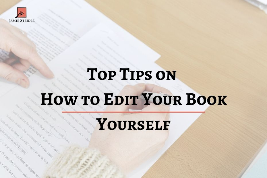 How to Edit Your Book Yourself